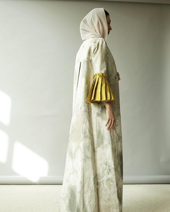 Canvas Abaya