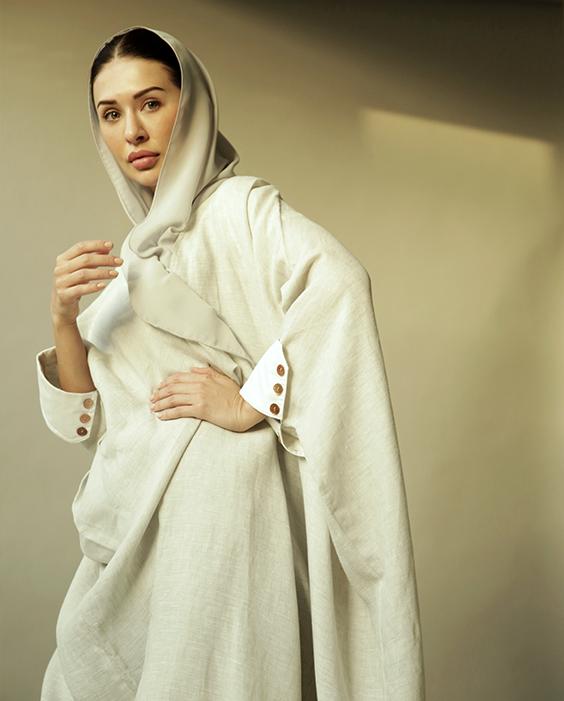 Linen Abaya